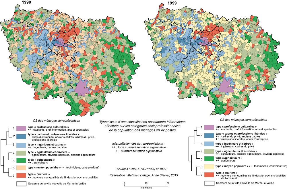 La métropole parisienne : une mosaïque sociale de plus en plus ...