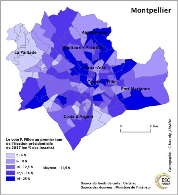 Montpellier nouvelle donne gauche m tropolitiques - Quartiers de montpellier ...