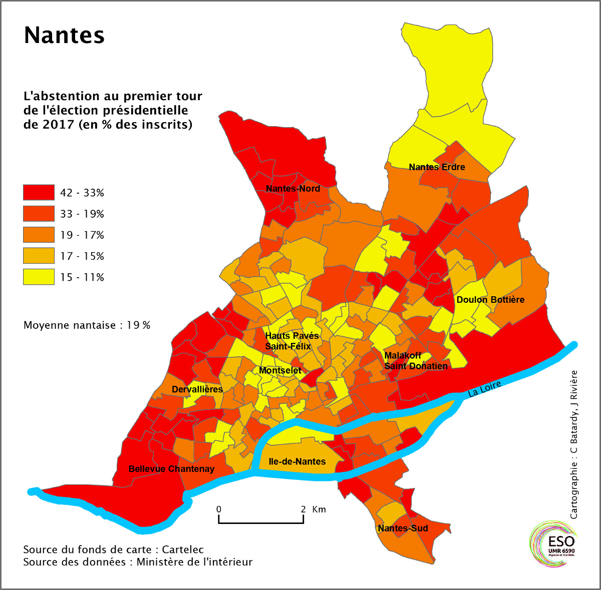Nantes Un Bastion Socialiste Partage Entre Les Votes Macron Et Metropolitiques