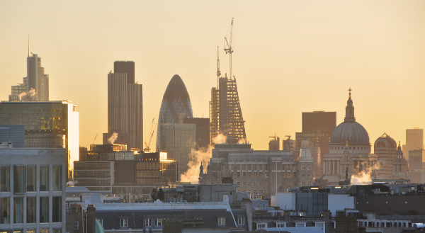 The London skyline © Manuel Appert
