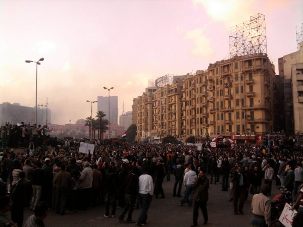 (cc) Riots in Tahrir Square, January 29, 2011