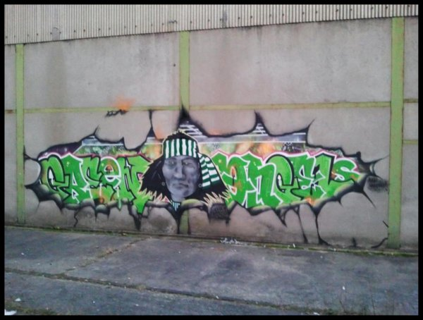 Graffiti by the Green Angels (photo © Green Angels)